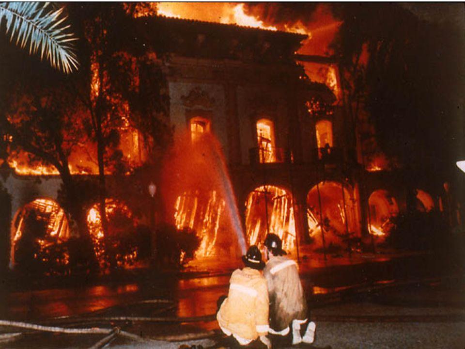 1978 San Diego Aerospace Museum Fire