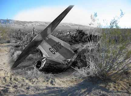 X15 Crash Site  Wikimapia