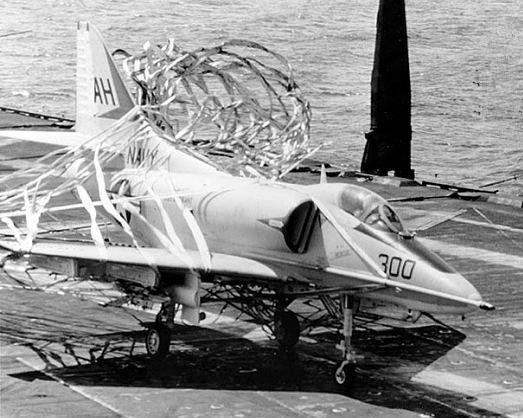 McCain's Skyhawk