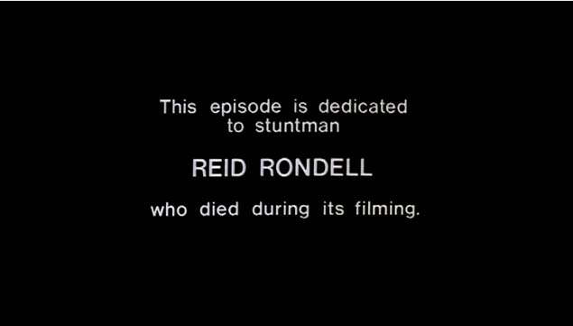 Rondell's dedication blackcard