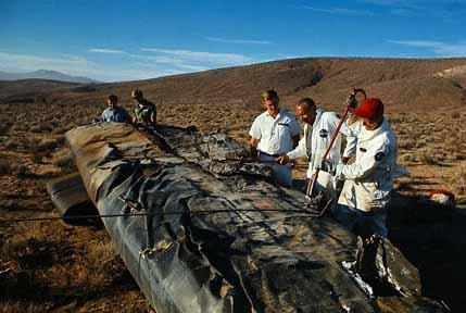 X15 Crash Landing 1962